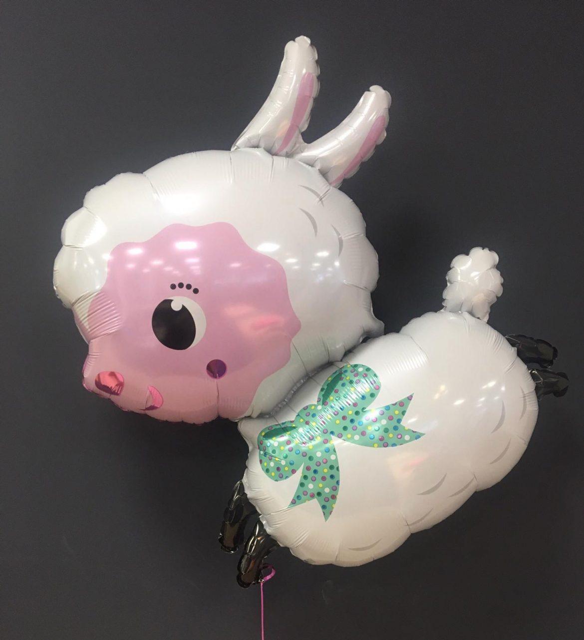 Heliumballon Schaf