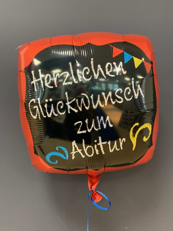 Heliumballon Abitur