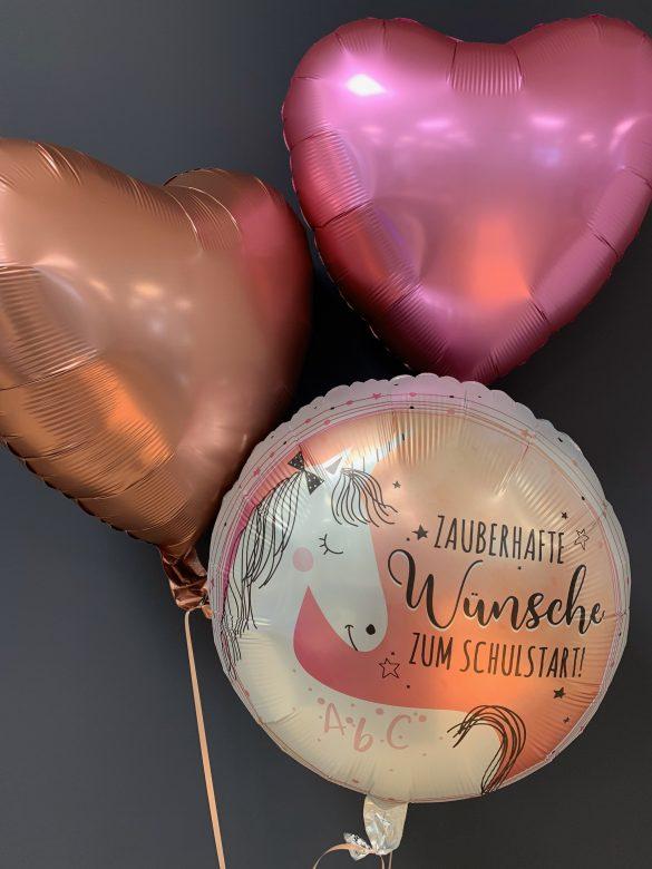 Ballon zur Einschulung