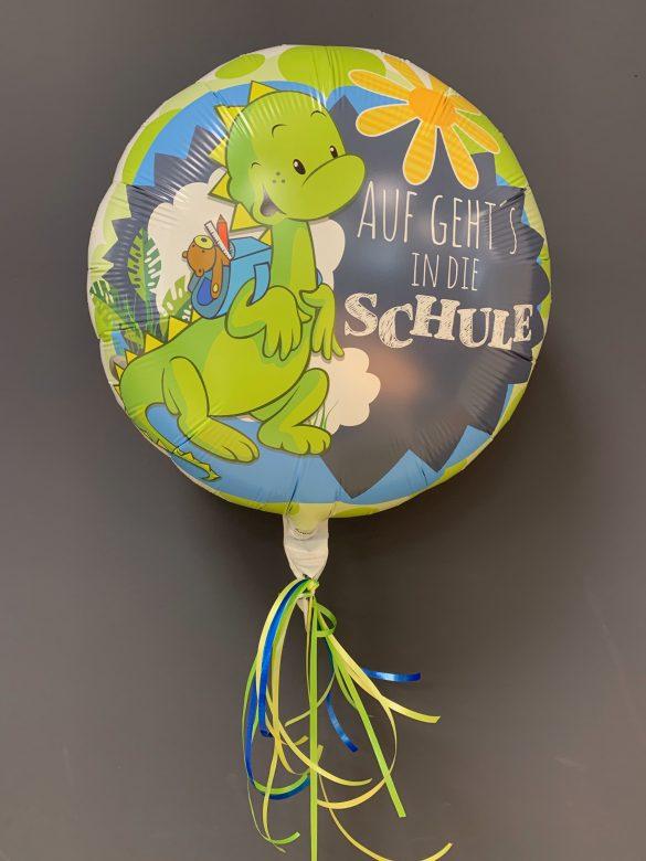 Heliumballon Einschulung
