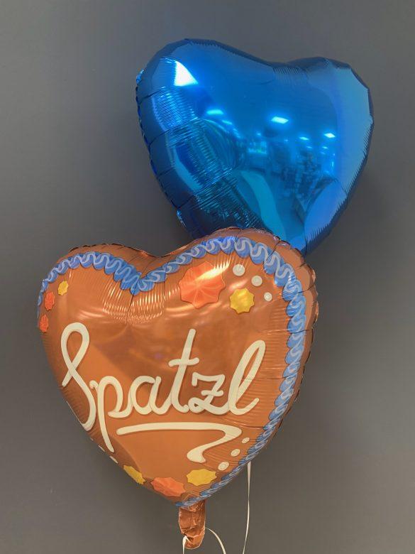 Heliumballon Spatzl zum Oktoberfest