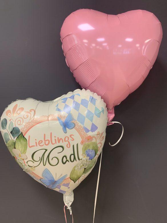 Heliumballon Lieblingsmadl zum Oktoberfest