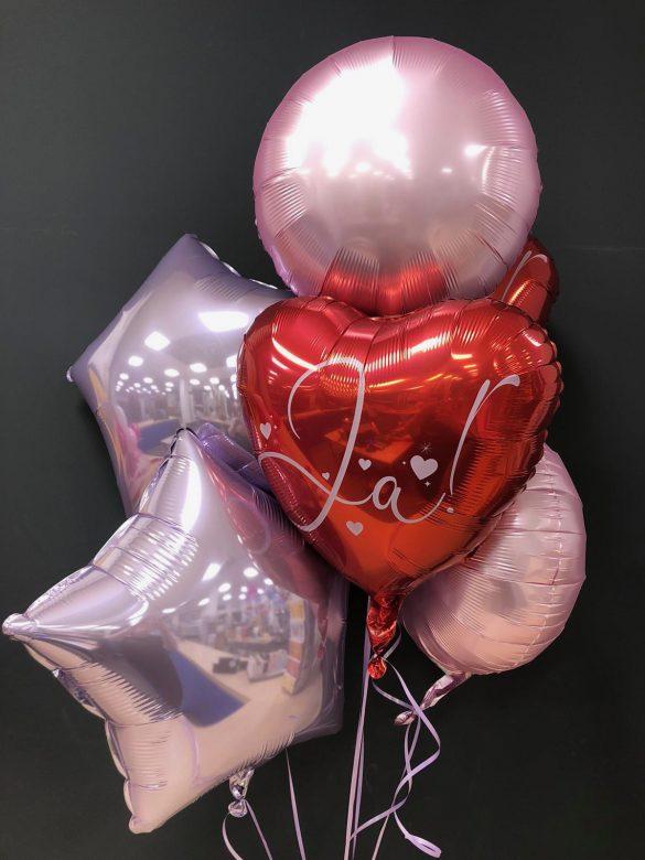 """Heliumballon """"JA"""" zur Hochzeit"""