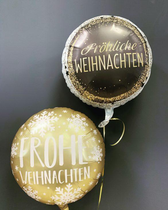 Frohe Weihnachten Heliumballon