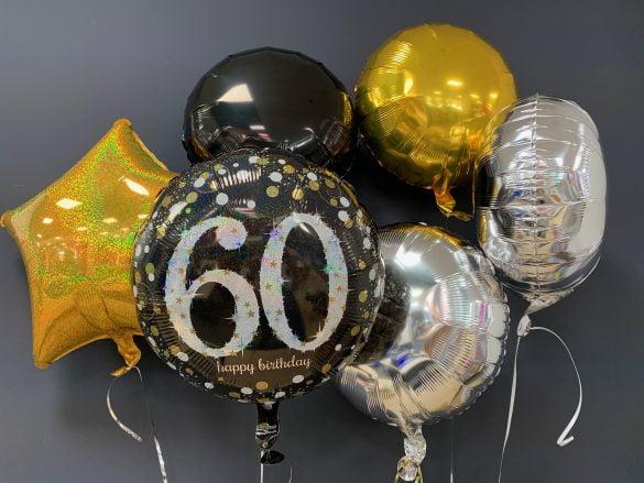 Heliumballon 60. Geburtstag