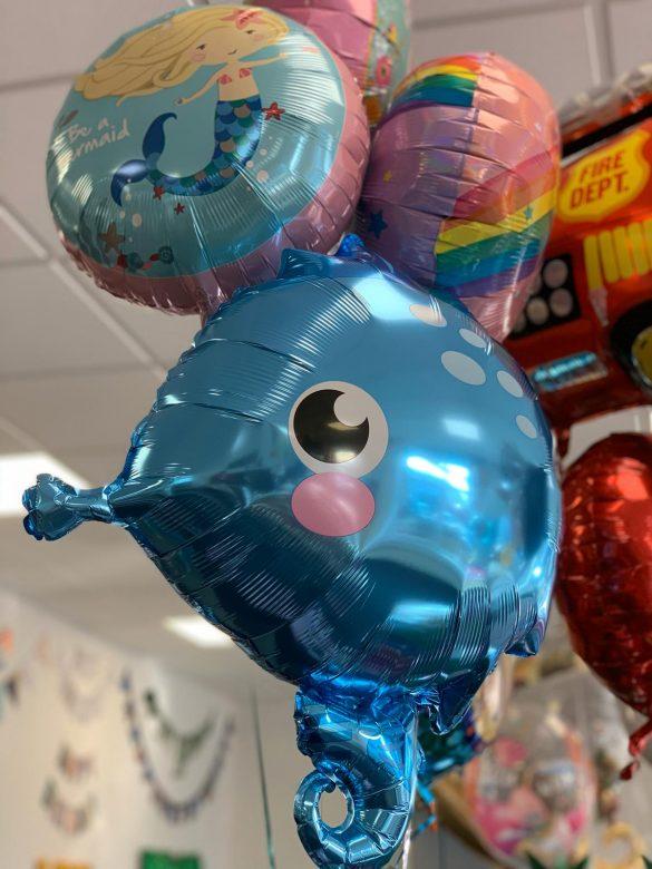 Seepferdchen Heliumballon
