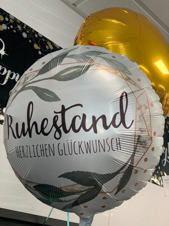 Herzlichen Glückwunsch zum Ruhestand Ballon € 5,90 61