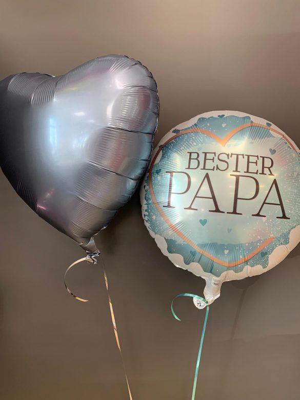 Folienballon Bester Papa € 5,90 und Dekoballon € 4,50 68