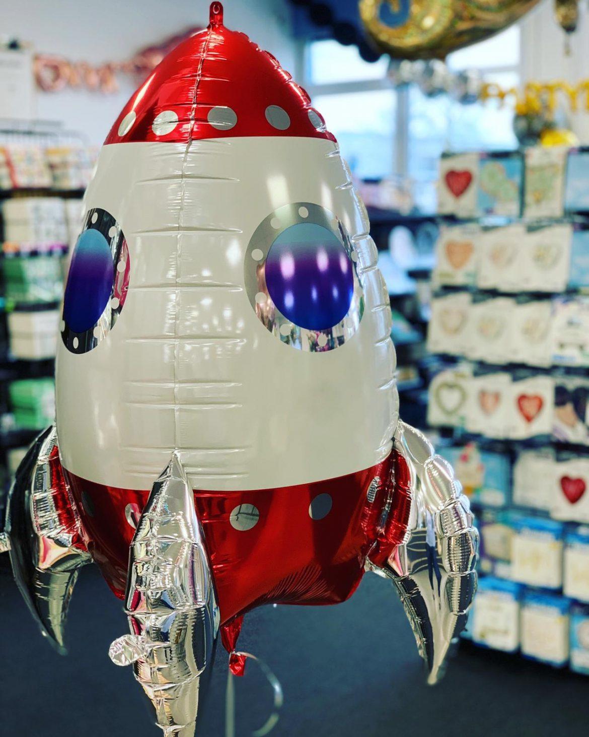 Raumfahrt Rakete Heliumballon € 8,90 1