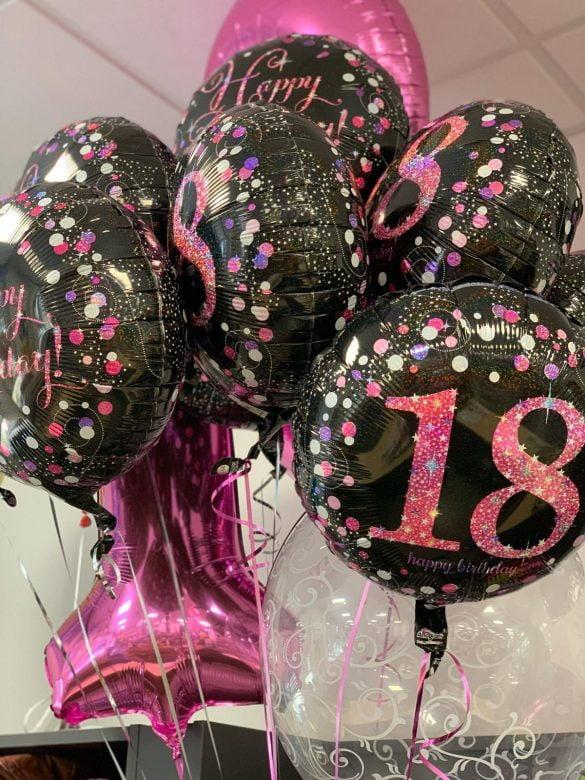 18. Geburtstag Traube je Ballon € 5,50 166