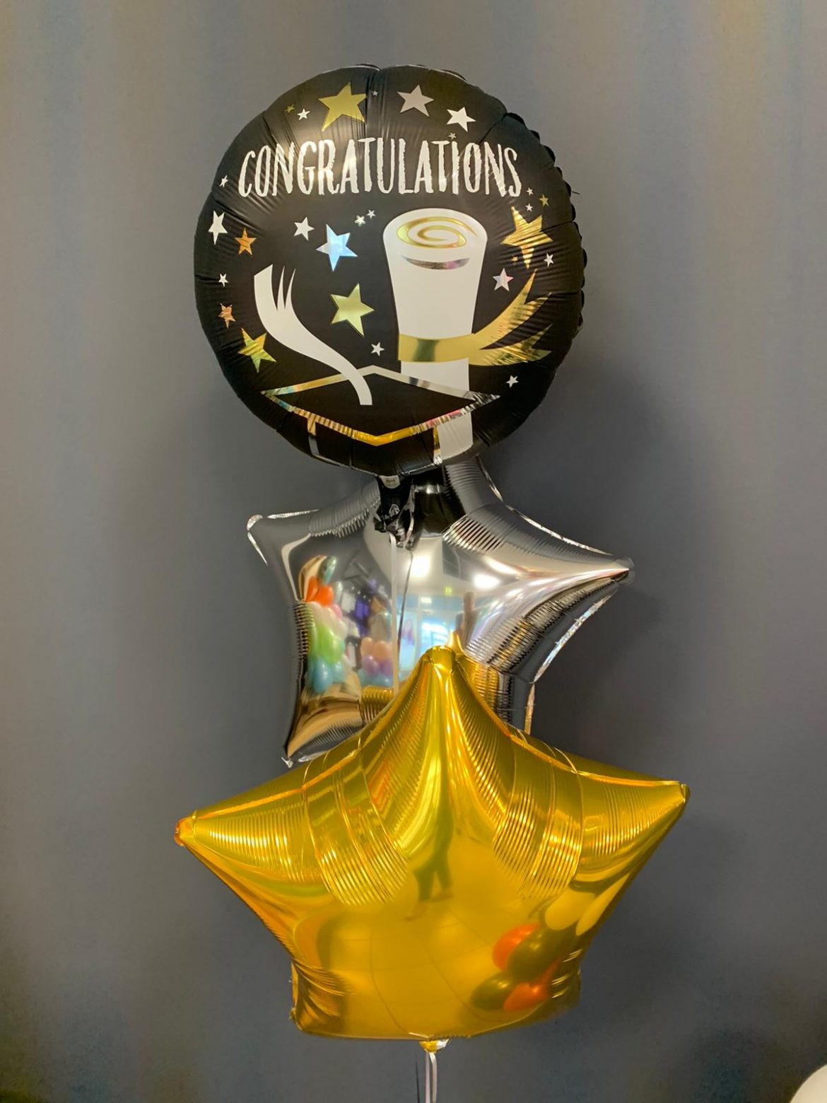 Congratulations Heliumballon 1