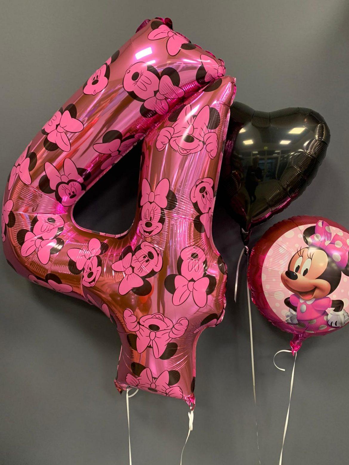Zahl 4 Heliumballon € 9,90 1