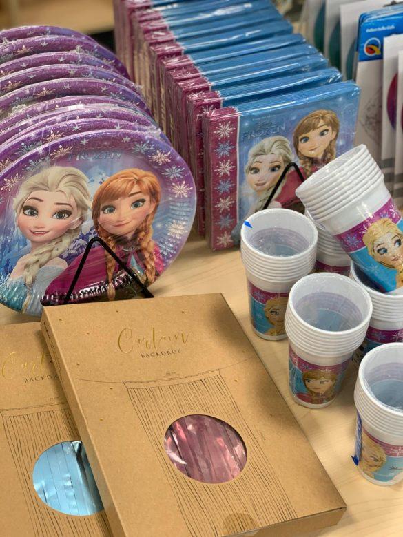Elsa Frozen Partygeschirr 7