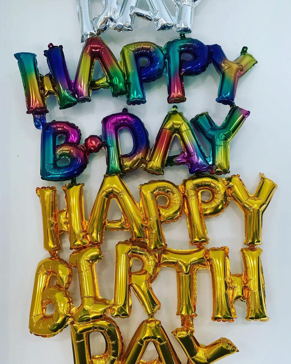 Happy Birthday Girlande 1