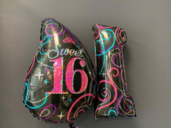 Zahlen Sweet 16 mit Aufdruck 31