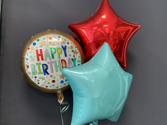 Geburtstagsballon €5,50<br />Dekoballons €4,50 148