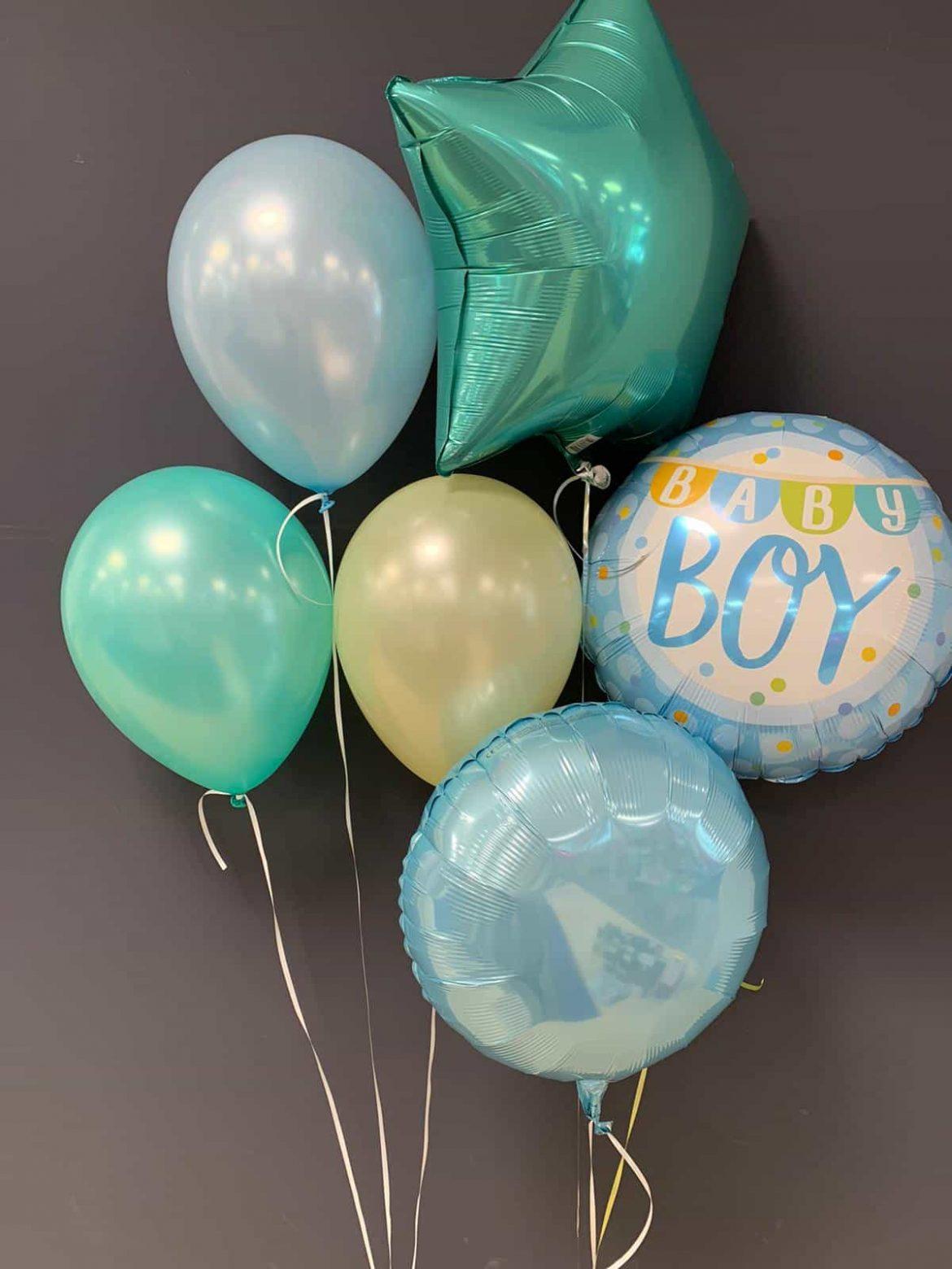 Baby Boy €5,50<br />Dekoballons €4,50<br />Latexballons €1,95 1