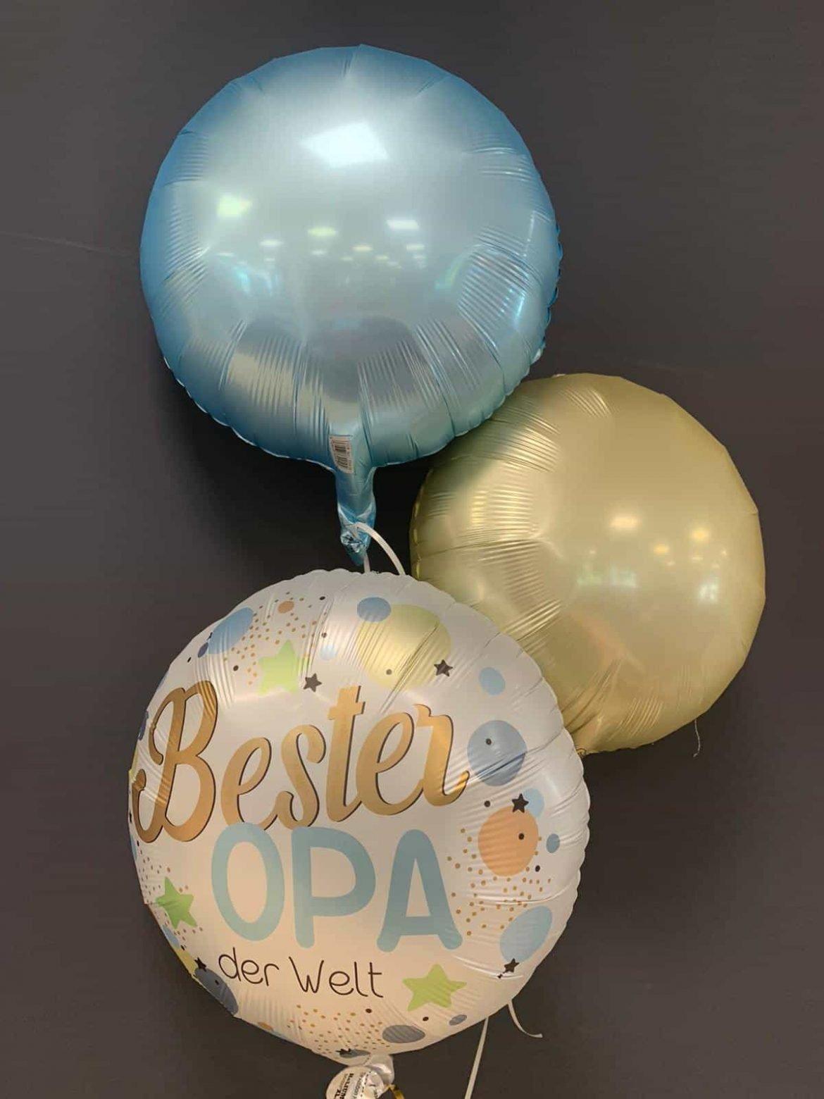 "Heliumballon ""Bester Opa"" € 5,90 mit Dekoballons je € 4,50 1"