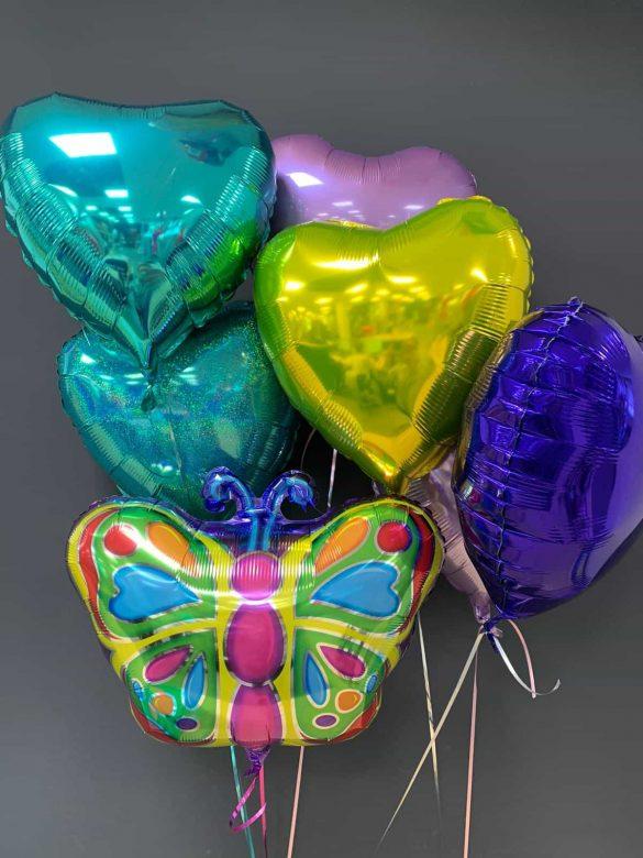 Schmetterling Ballon € 5,50 und Dekoballons je € 4,50 66
