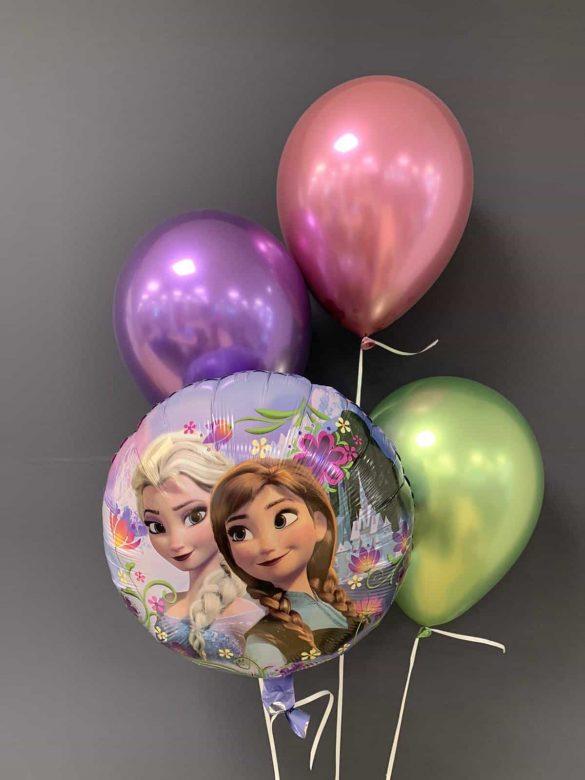 Frozen Heliumballon €5,50<br />Latexballons chrome €2,20 62