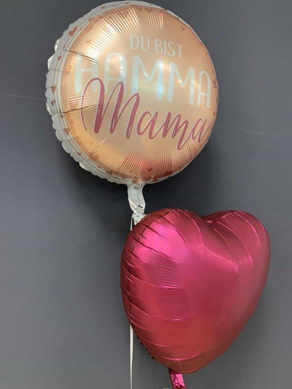 Ballon Hamma Mama € 5,90 mit Dekoballon € 4,50 58