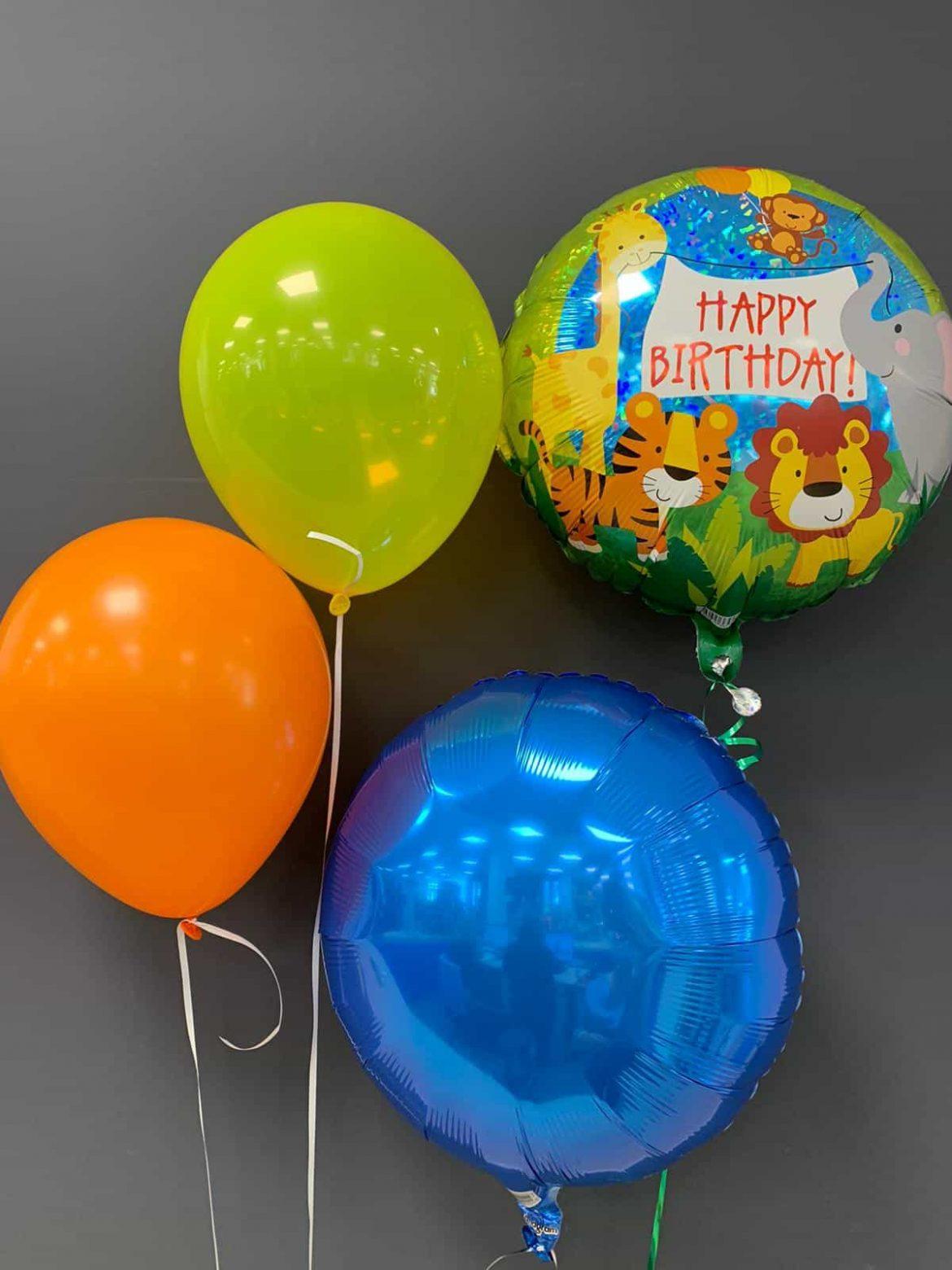 Happy Birthday €5,50<br />Dekoballon €4,50<br />Latexballons €1,95 1