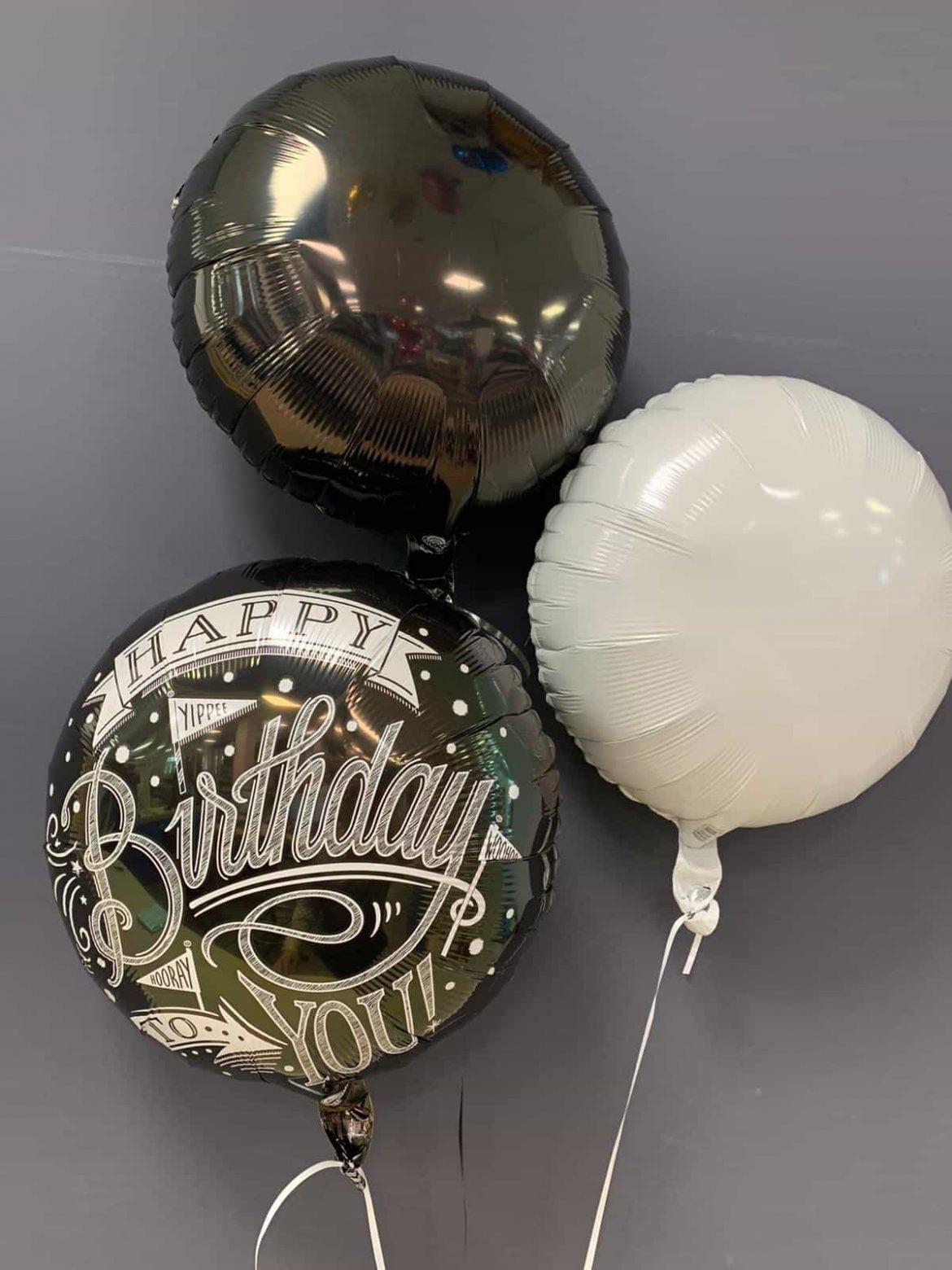Happy Birthday €5,50<br />Dekoballons €4,50 1