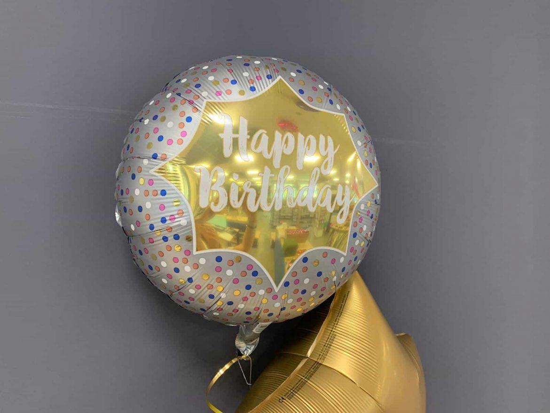 Happy Birthday Ballon gold € 5,50 1