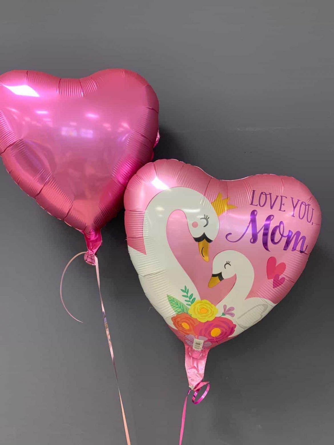 Love you Mom Ballon € 5,50 und Dekoballon € 4,50 1