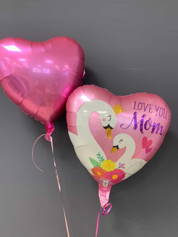 Love you Mom Ballon € 5,50 und Dekoballon € 4,50 60