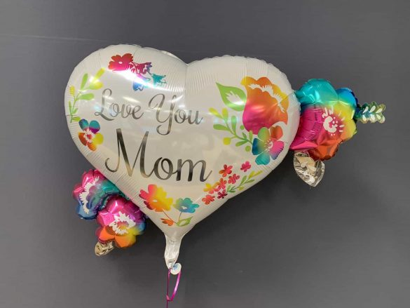 Love You Mom Herzballon € 7,90 44
