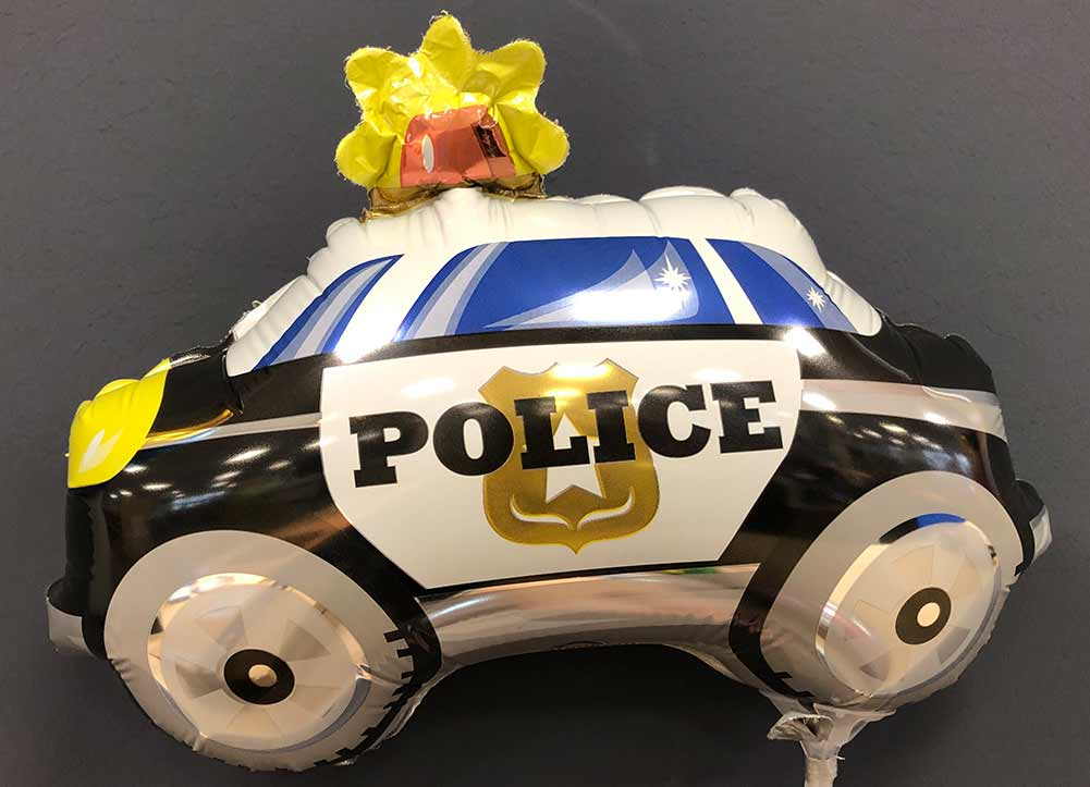 Miniballon Polizeiauto € 3,50 1
