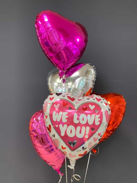 We love you € 5,50<br />Dekoballons je € 4,50 32