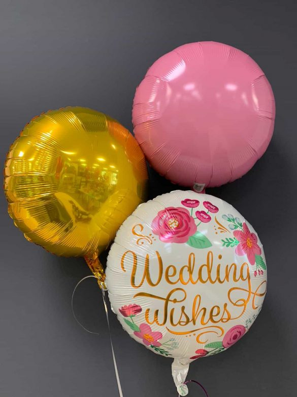 Wedding Wishes € 5,50<br />Dekoballons € 4,50 25