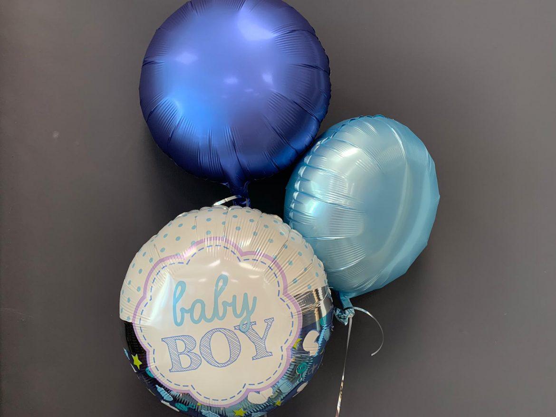 Baby Boy Ballon €5,50<br />ohne Druck €4,50 1