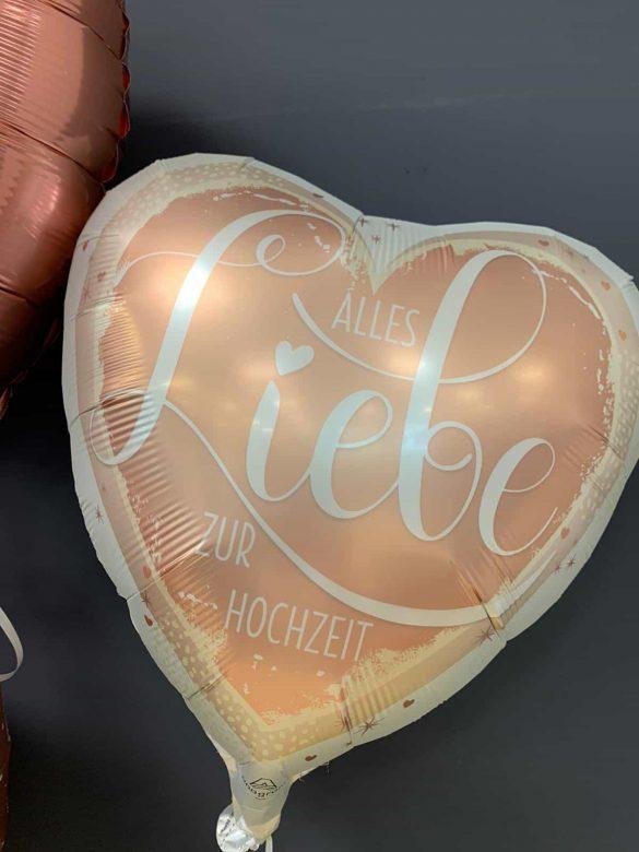 Alles Liebe zur Hochzeit<br />Folien-Ballon € 5,90 17