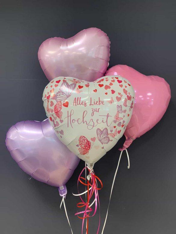 Hochzeitsballon € 5,90<br />Dekoballon €4,50 21