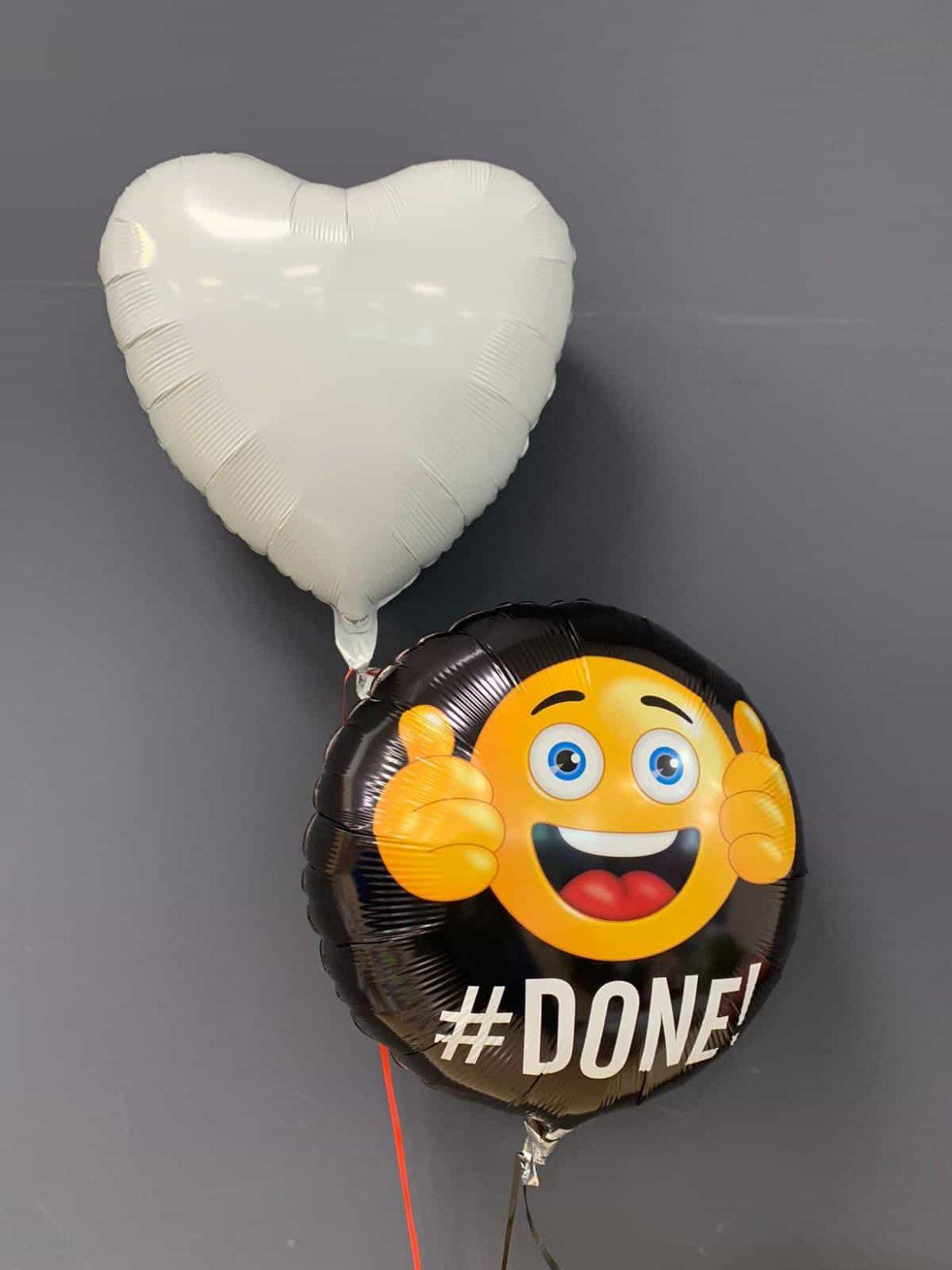 DONE Ballon € 5,50<br />Dekoballon € 4,50 1