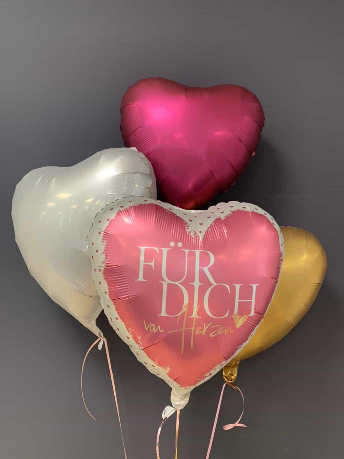 Ballon Für Dich €5,90<br />Dekoballons € 4,50 1