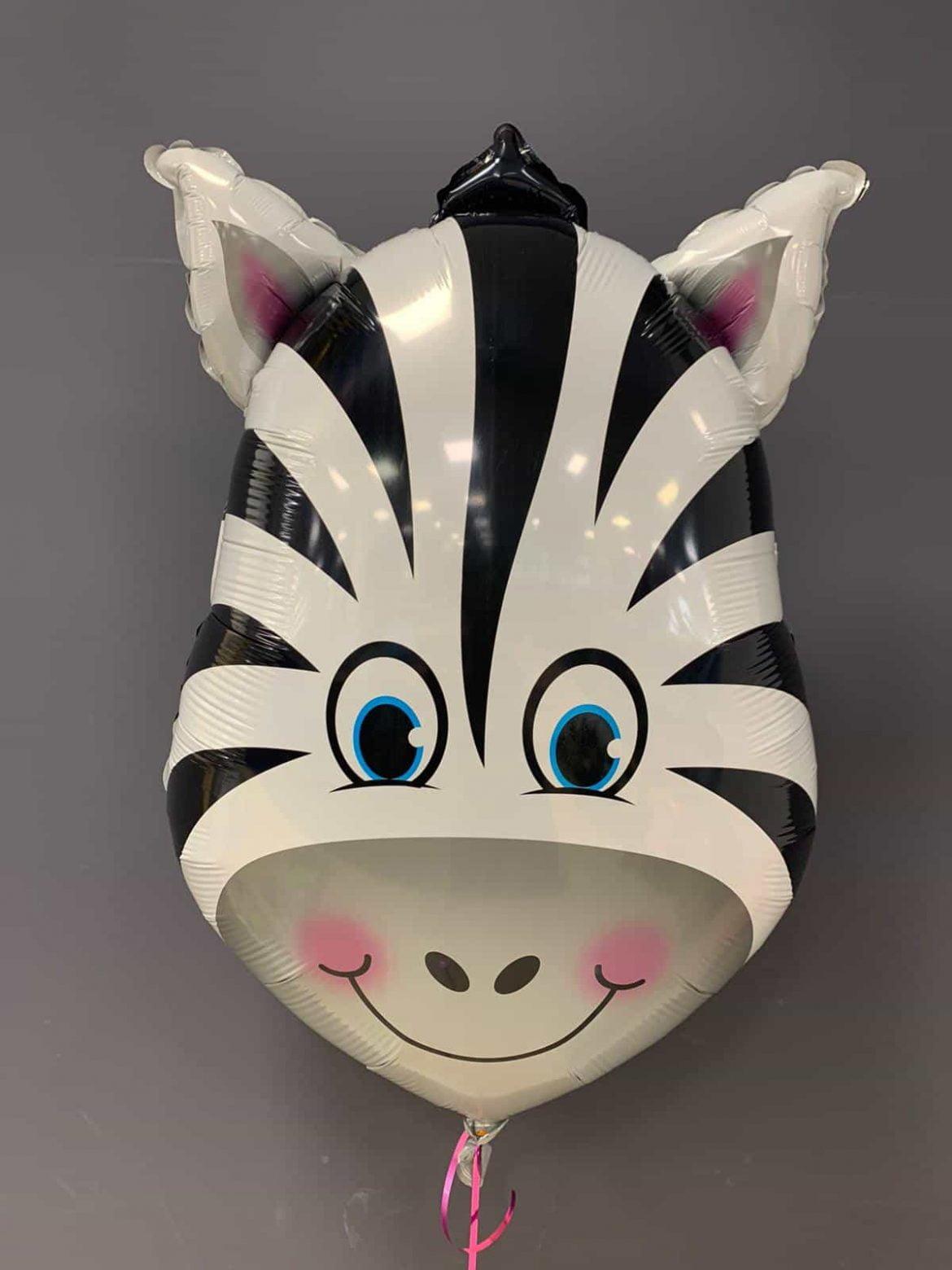 Zebra Heliumballon<br />80cm gross - € 7,90 1