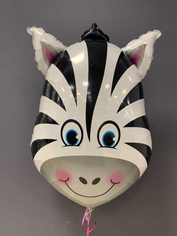 Zebra Heliumballon<br />80cm gross - € 7,90 10