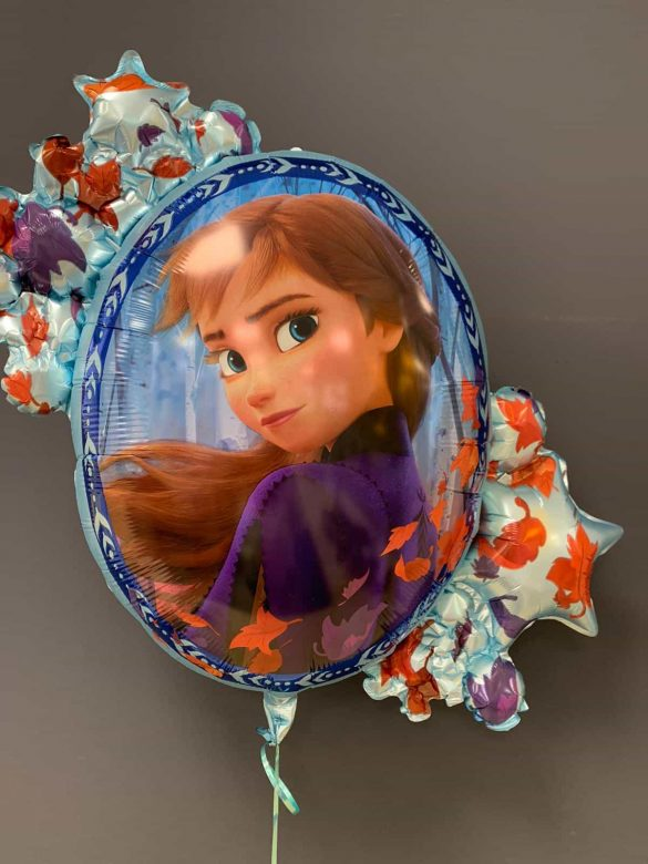 Frozen Disney<br />Heliumballon € 8,90<br />2 Seiten - Anna 40