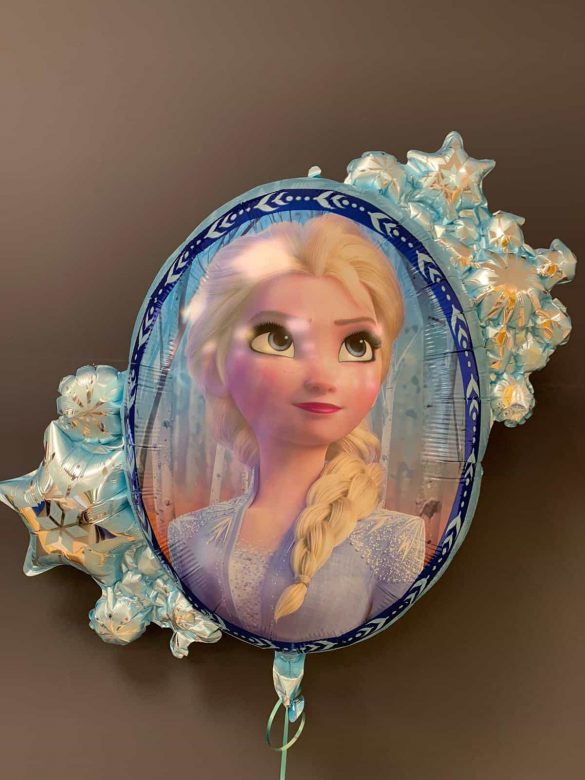 Frozen Disney<br />Heliumballon € 8,90<br />2 Seiten - Elsa 60
