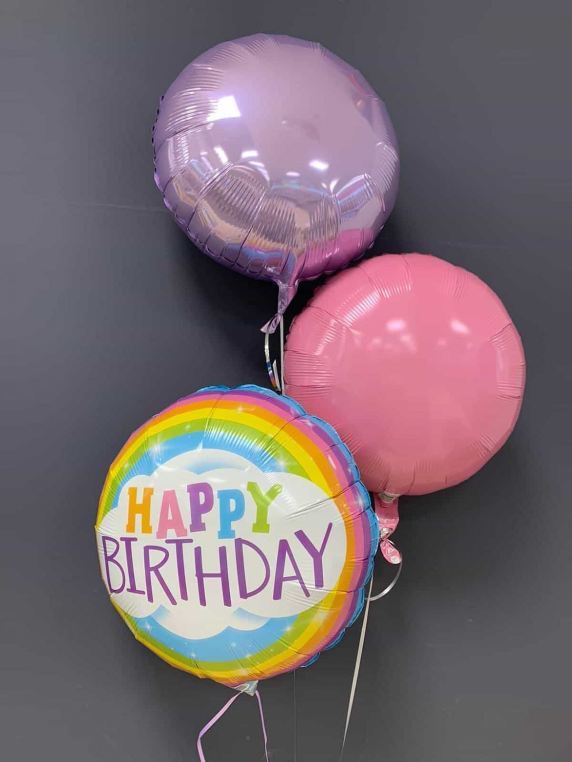 Happy Birthday € 5,50<br />Dekoballons € 4,50 1