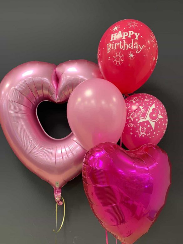 Grosses Herz € 7,90 <br /> Latexballons € 1,95 <br /> Dekoballon € 4,50 36