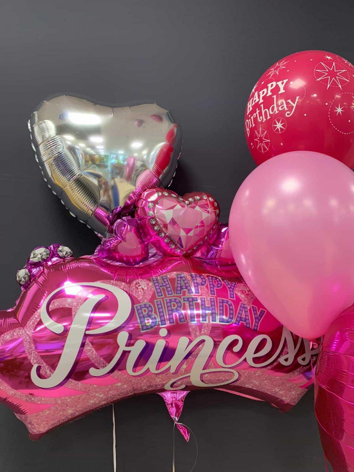 Princess Birthday € 7,90 <br />Dekoballon € 4,50 <br /> Latexballons ab € 1,95 1