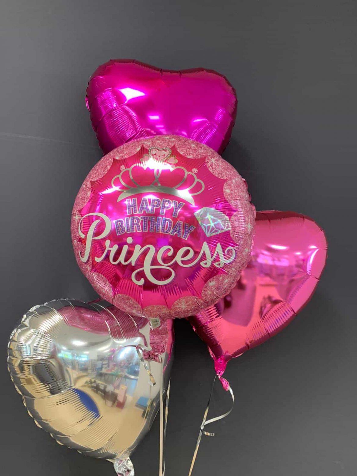 Birthday Princess € 5,50<br />Dekoballon € 4,50 1