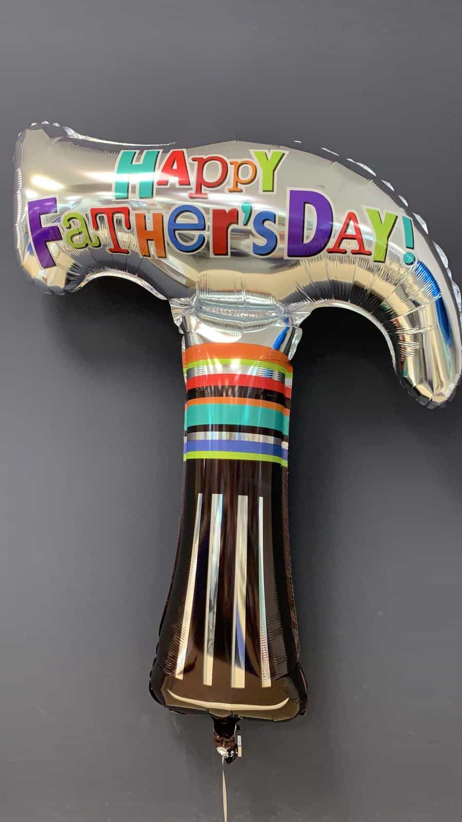 Happy Fatherday Hammer<br />Heliumballon 80cm € 8,90 1