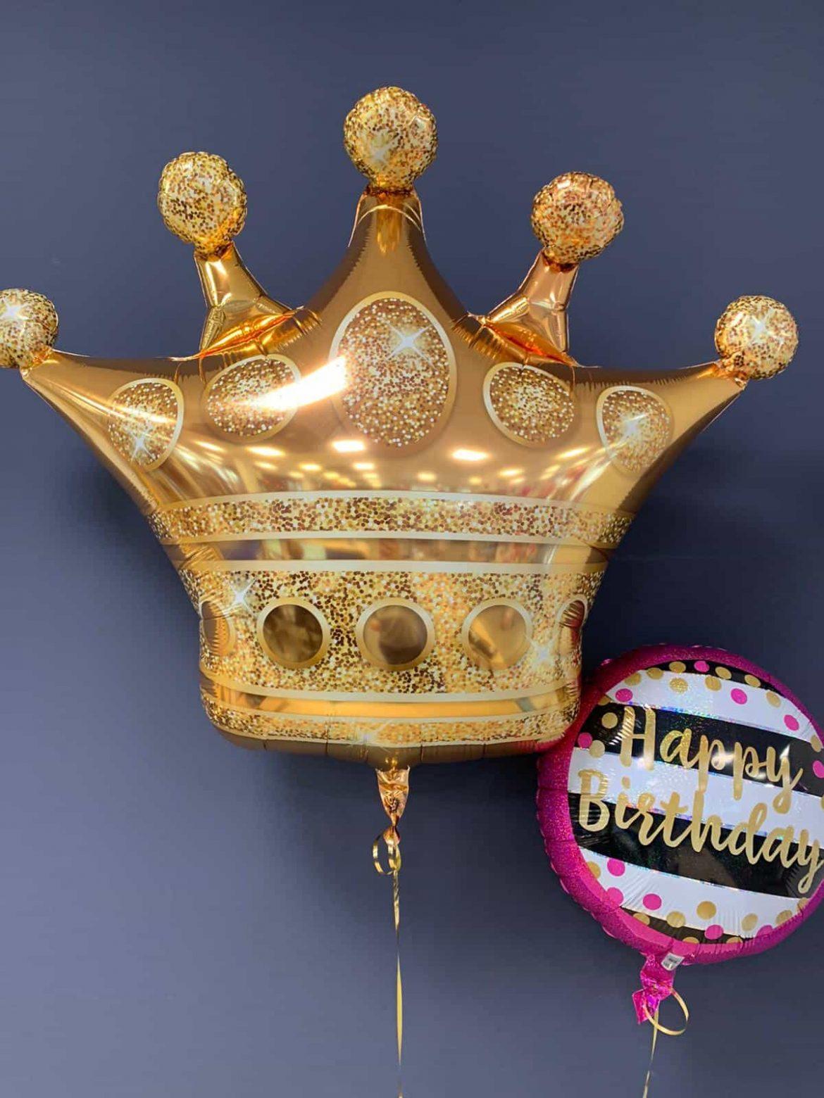 Kronenballon € 8,90<br />Happy Birthday €5,90 1