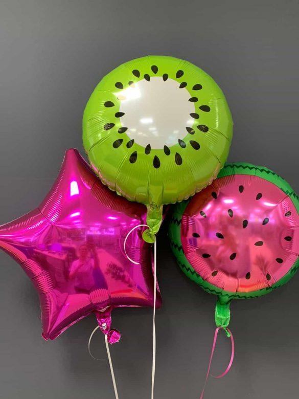 Obst Ballons € 5,50<br />Dekoballons € 4,50 23